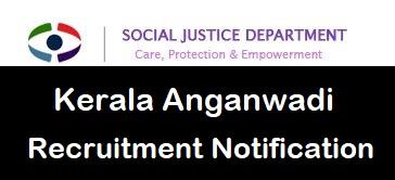 Kerala Anganwadi Recruitment 2019-2020 Apply Online| Latest